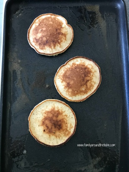 Cider pancakes bring fall to the breakfast table.