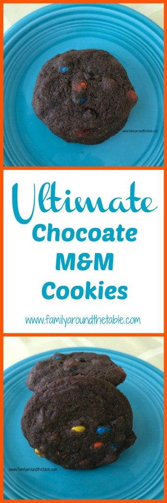 Fill your cookie jar with Ultimate Chocolate M&M Cookies.