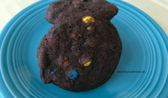 Ultimate Chocolate M&M Cookies