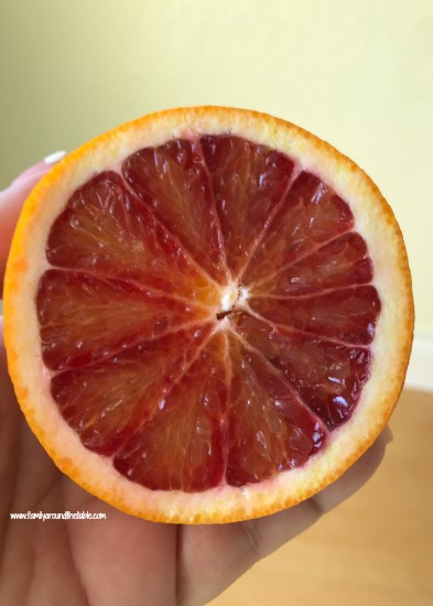 A beautiful blood orange from Melissa's Produce.