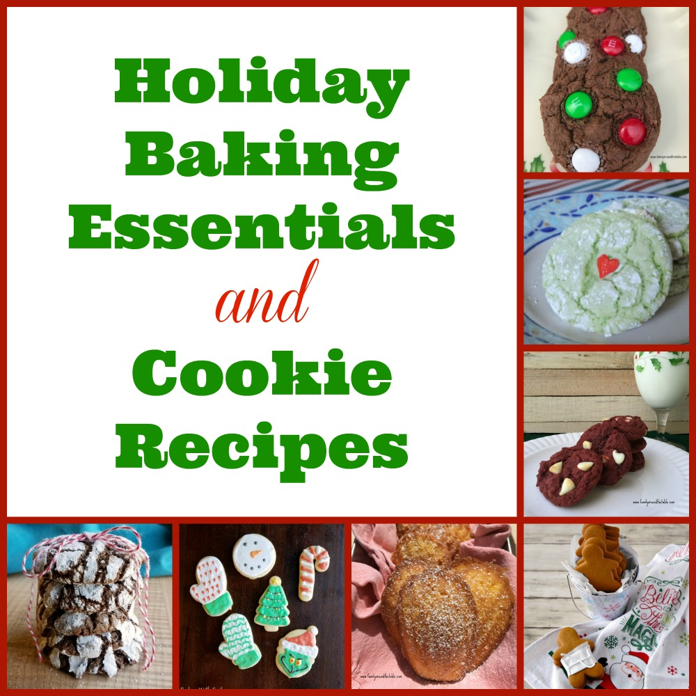 All the tools you need for holiday baking