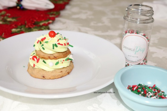 Brown sugar pecan Christmas tree cookies are a dessert in themselves.