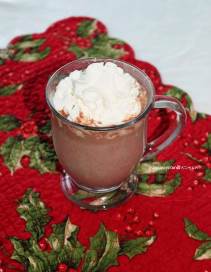 Ultimate Hot Chocolate is rich and chocolaty, and ideal for wintery days.