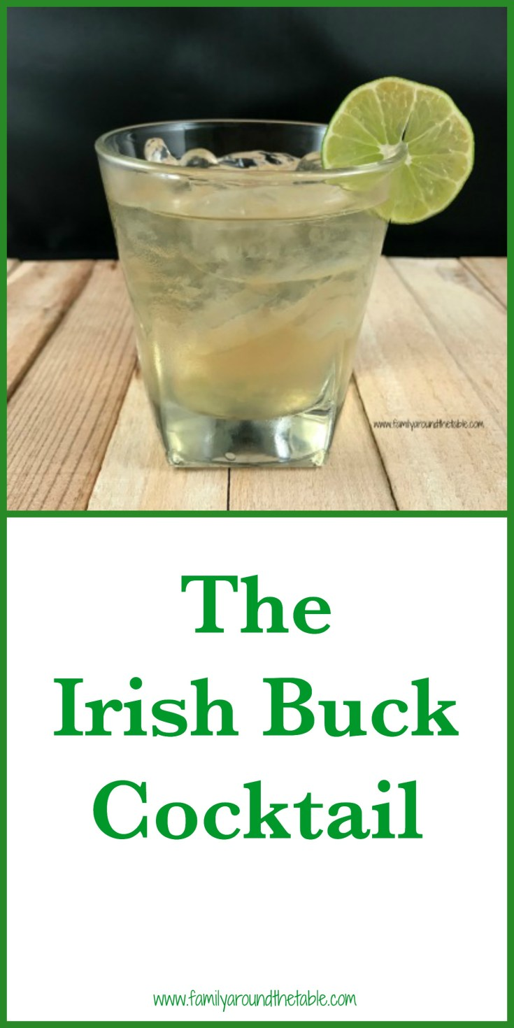If you're looking for a refreshing and simple cocktail, the Irish Buck cocktail is it! It's made with just 3 ingredients.