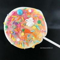 White Chocolate Spring Candy Pops