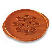 Nordic Ware Reversible Apples & Leaves Pie Top Cutter