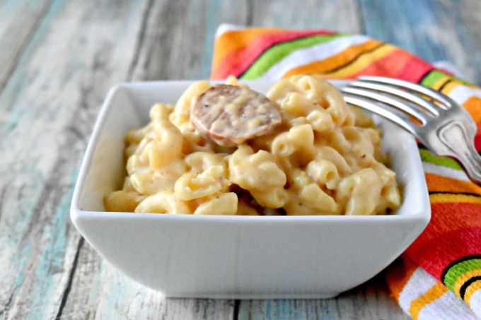Beer and Brats Mac and Cheese