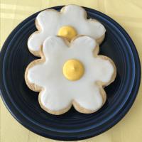 Daisy Shortbread Cookies