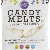 Wilton Candy Melts Flavored 12oz, Bright White, Vanilla