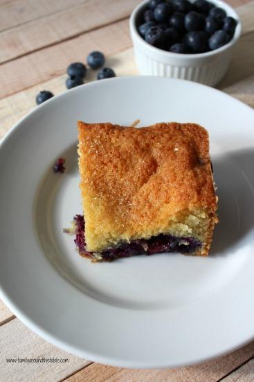 Serve blueberry cobbler for breakfast or dessert.