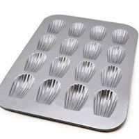 Bakeware Madeleine 16 Wells, Silver