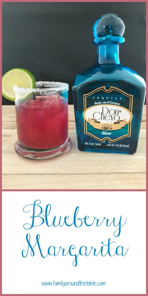 The next time you make margaritas, make blueberry margaritas.