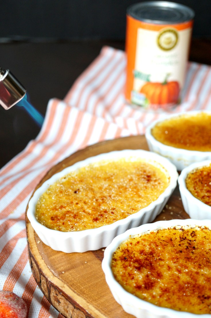 Pumpkin Creme Brûlée