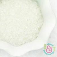 Chunky Sugar Crystals: White