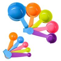 Measuring Cups and Spoons Set for Measuring Dry and Liquid Ingredients (Set of 10)