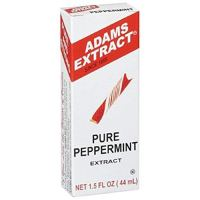 Adams Extract Pure Peppermint Extract ~ 1.5 oz