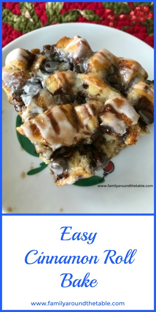 Easy Cinnamon Roll Bake is perfect for a weekend or special occasion breakfast.