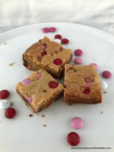 Valentine Brown Sugar Bars area sweet treat for your family.