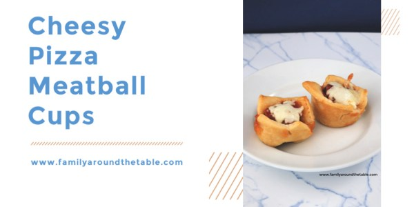 Cheesy Pizza Meatball Cups are so easy. Perfect for movie night or game day.