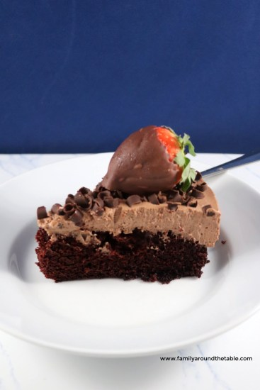 Chocolate mousse cake will be your new favorite special occasion cake.