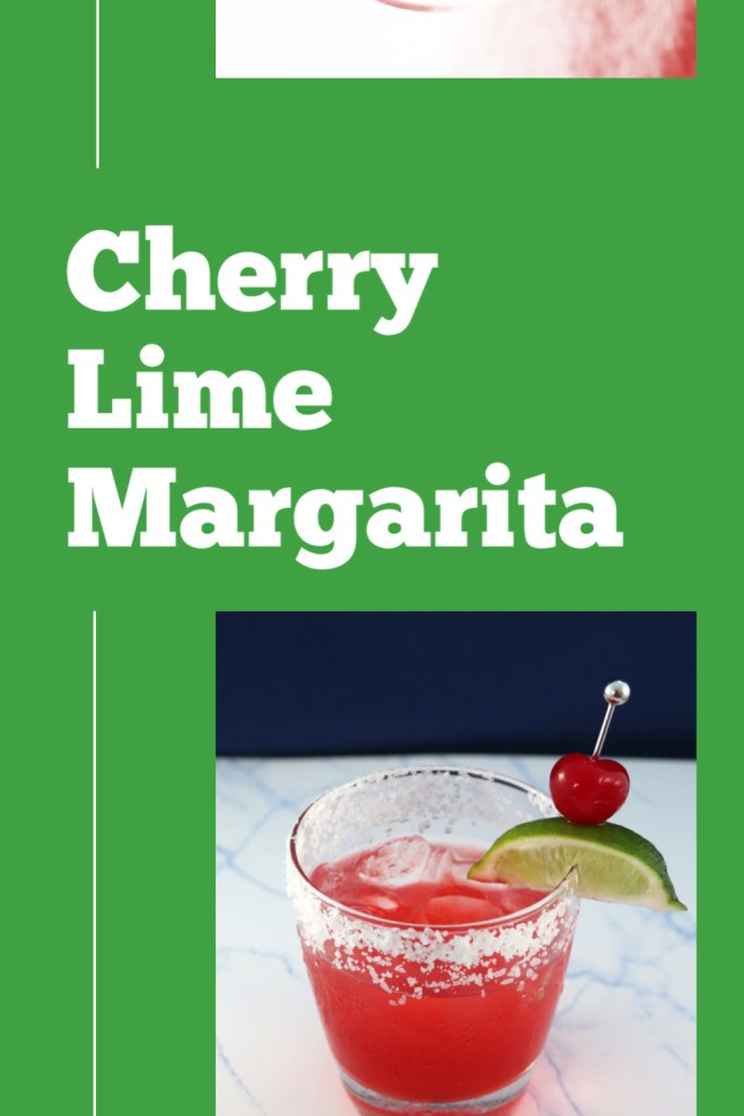 Serve this cherry lime margarita all summer long.