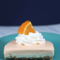 No-Bake Orange Creamsicle Bars