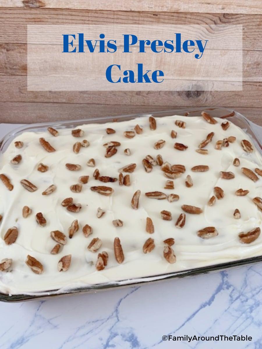 Elvis Presley Cake Pinterest Image