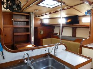 Galley and Saloon