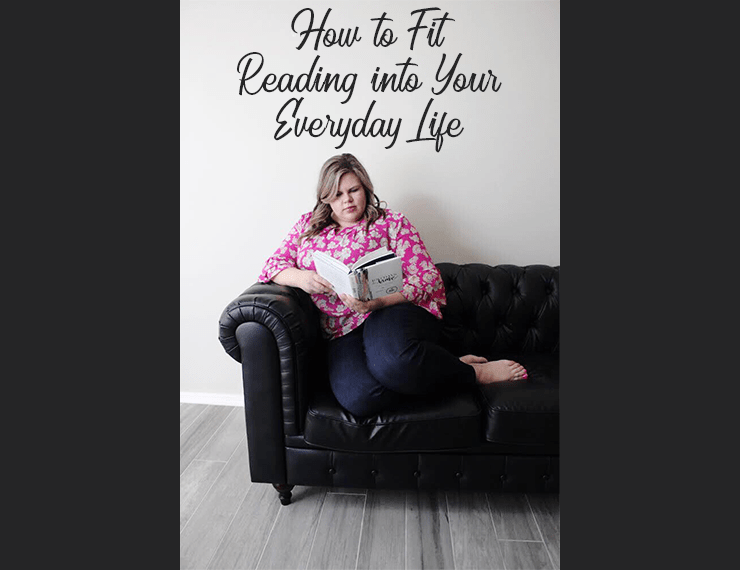 As adults, it can be REALLY hard to find time to read. But with some simple tweaks in your routine, you can fit reading into your everyday life. Here are a few of my personal favorites.