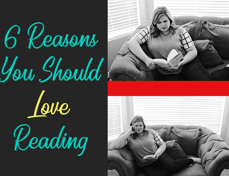 Reading as an adult is an interesting subject: people either love it or hate it. But there are so many different reasons to love reading! Here are 6 of my favorite: