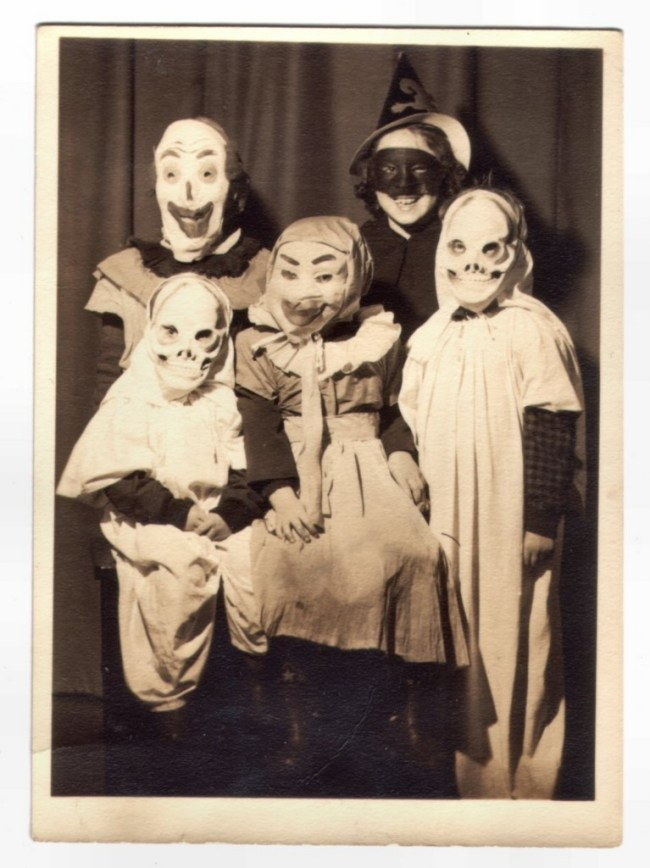 Creepy Halloween Group Photo