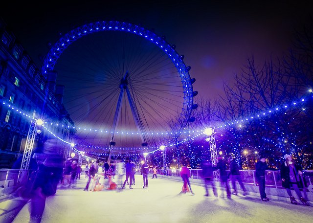 Ice-skating-in-London-at-the-London-Eye