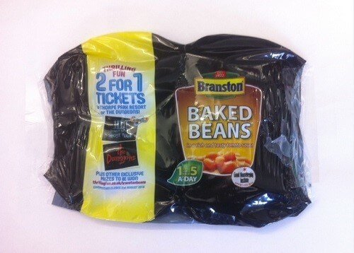 2for1 promotional offer on baked beans