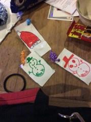 Homemade Christmas tags