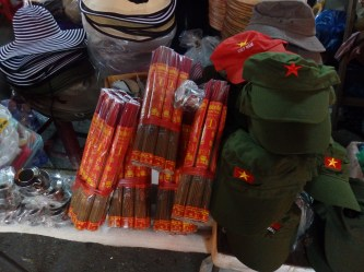 Fireworks sold in the markets