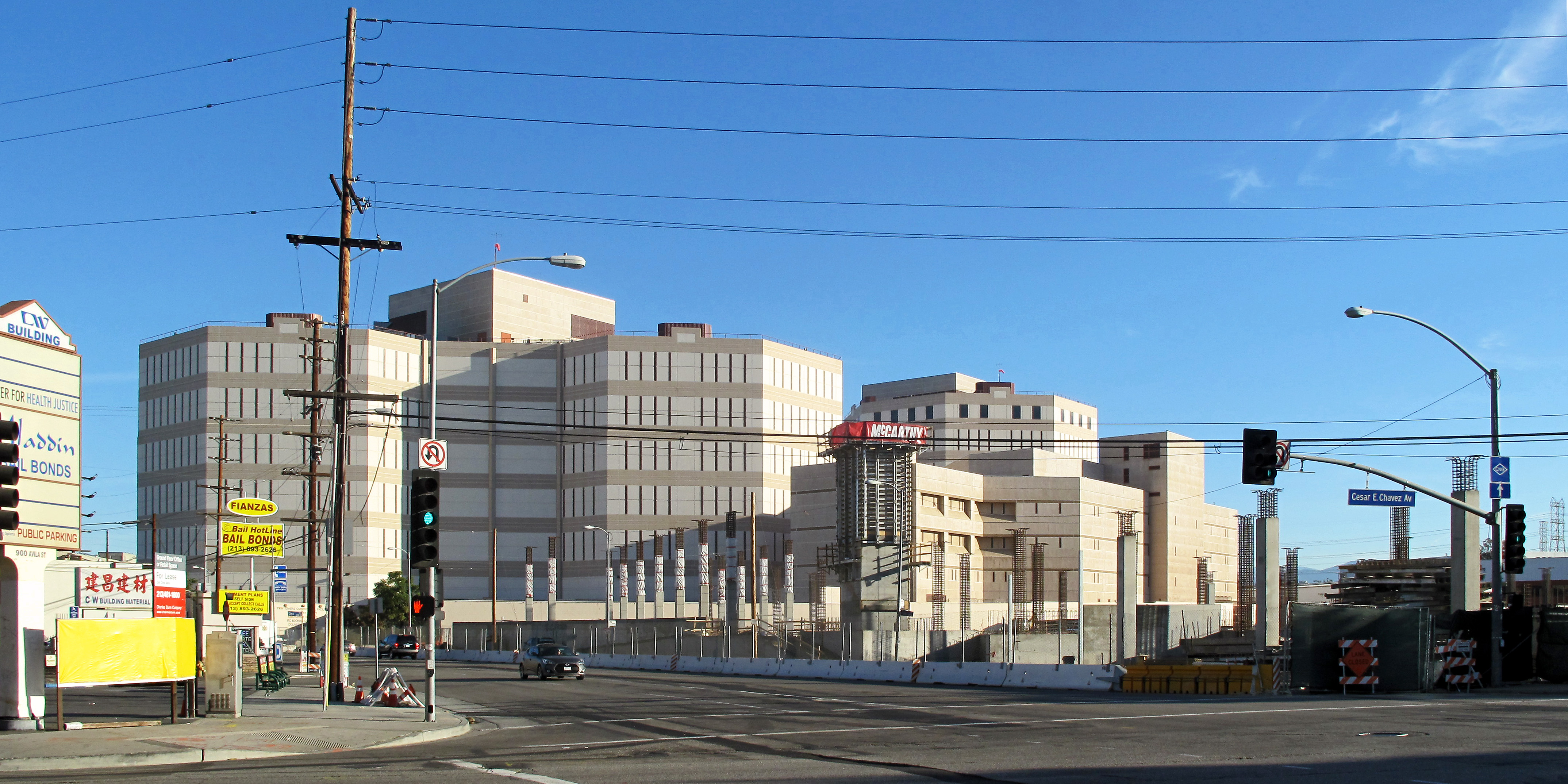 Liam Spencer staying at the LA County Jail