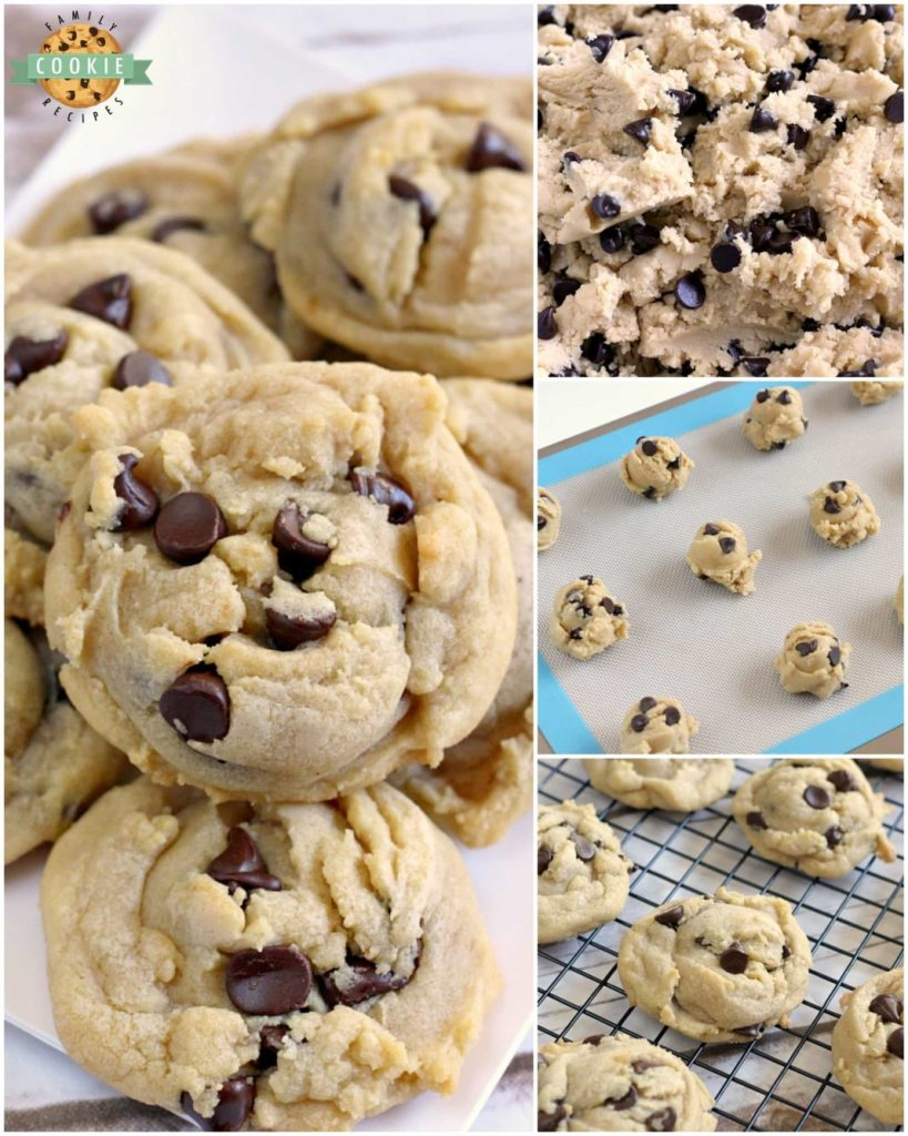 The best Chocolate Chip Cookies are soft, chewy and easy to make too! After trying dozens of different chocolate chip cookie recipes, I decided that I like this one the best!