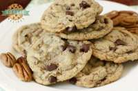 Butter Pecan Chocolate Chip Cookies are all the goodness of a traditional chocolate chip cookie recipe with the indulgent addition of toasted brown sugar butter pecans!