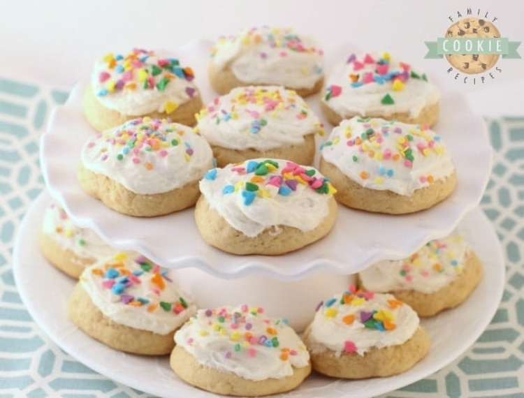 Soft Buttermilk Sugar Cookies are classic sugar cookies with the addition of buttermilk for an extra soft, pillowy texture. It's a family favorite frosted sugar cookie recipe that you've got to try!