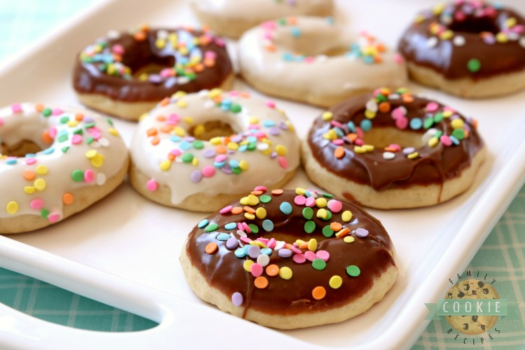 Glazed Donut Cookies Are Soft Pillowy Shaped With A Lovely Chocolate Or
