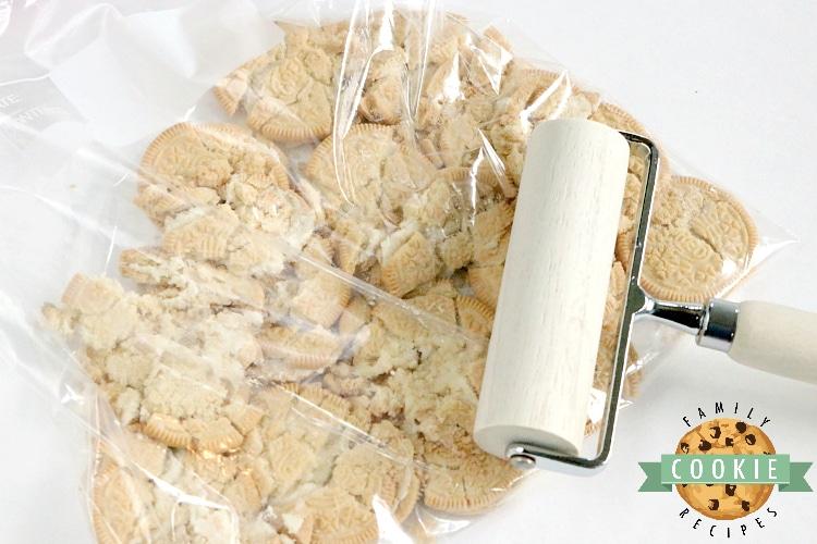 How to crush Golden Oreo cookies