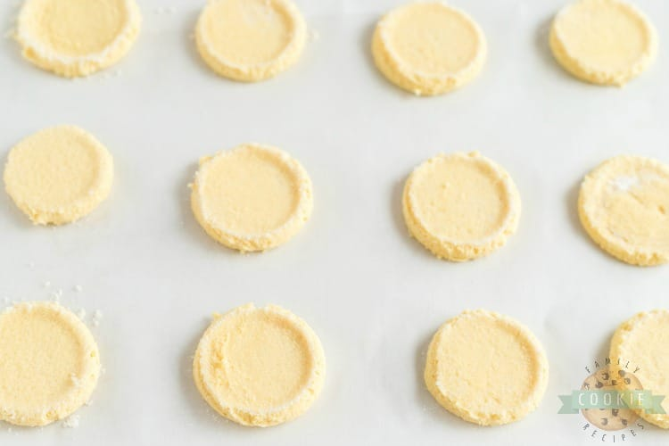 Frosted Lemon Jello Sugar Cookies
