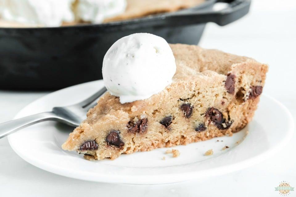 Cast Iron Skillet cookie recipe