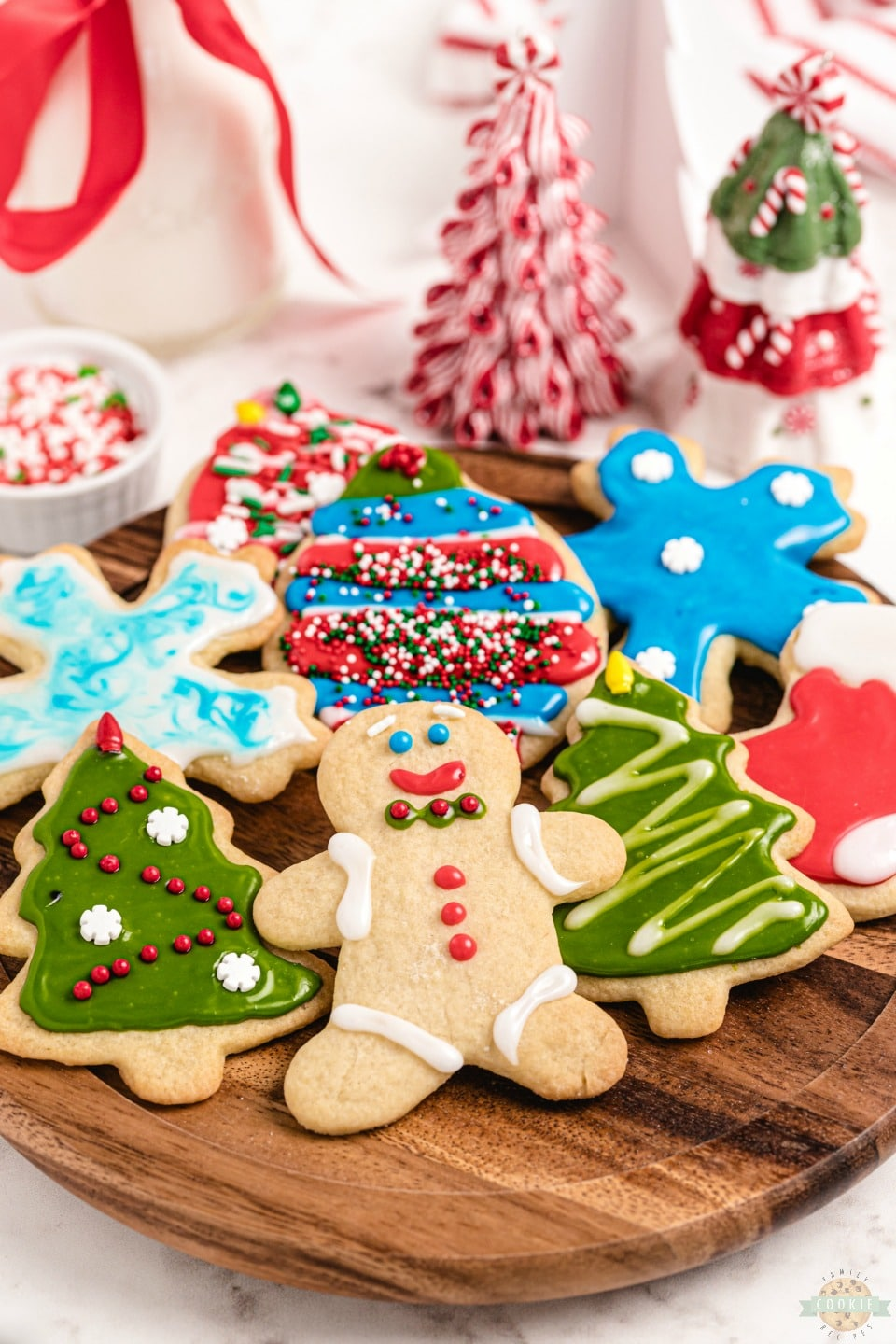 How to make Christmas Cut Out Cookies