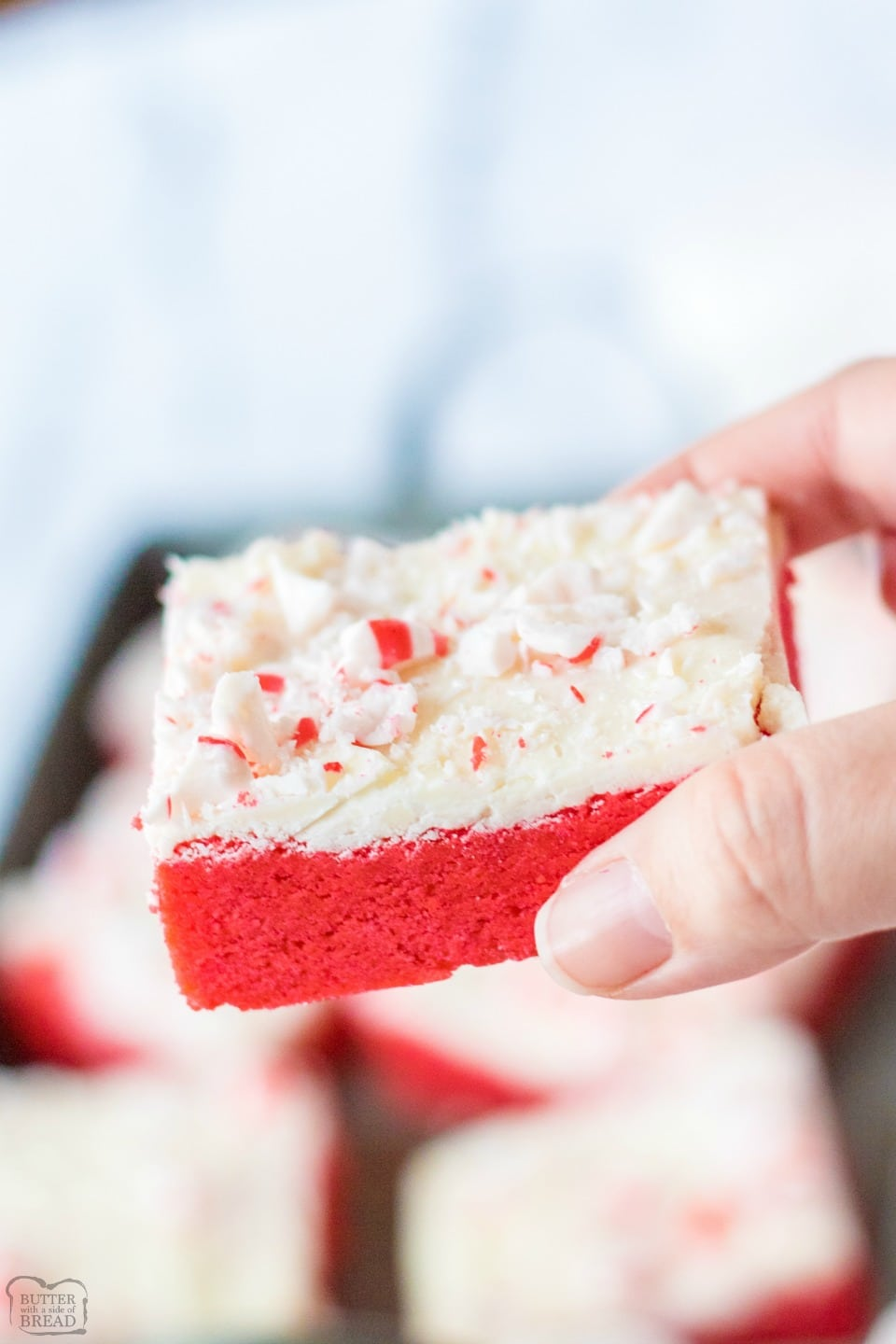 how to make Peppermint Sugar Cookie Bars