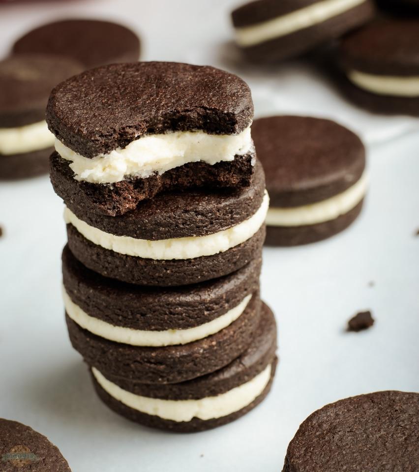 How to make Homemade OREO Cookies
