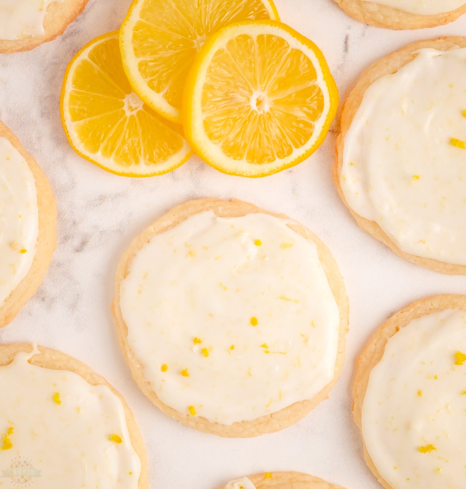 Soft & Tender Lemon Meltaway Cookie recipe