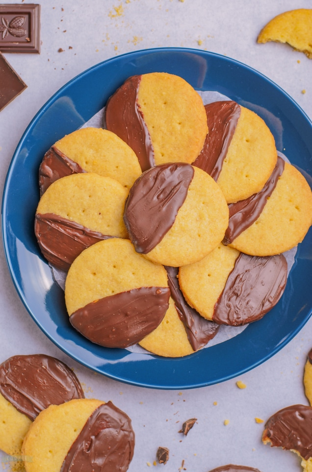 How to make Brown Sugar Shortbread Cookies