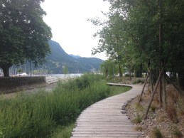 Parco Ciani - Board Walk behind playground