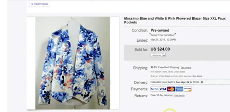What Sold on eBay